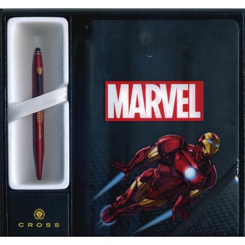 Cross Στυλό Ballpoint με Σημειωματάριο Iron Man Tech 2