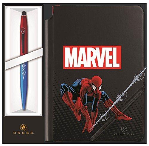 Cross Στυλό Ballpoint με Σημειωματάριο Spiderman Tech 2