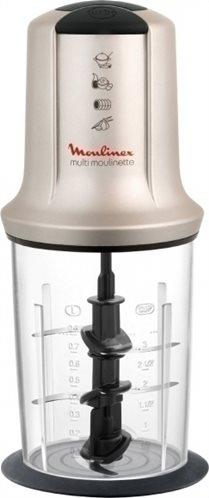 Moulinex Κοπτήριο AT718A Multi Moulinette XXL με 3 Λεπίδες 500W