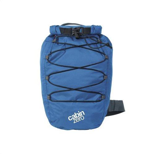 Cabin Zero Τσάντα πλάτης χιαστί 32x21x12cm 11lt σειρά ADV Dry Atlantic Blue