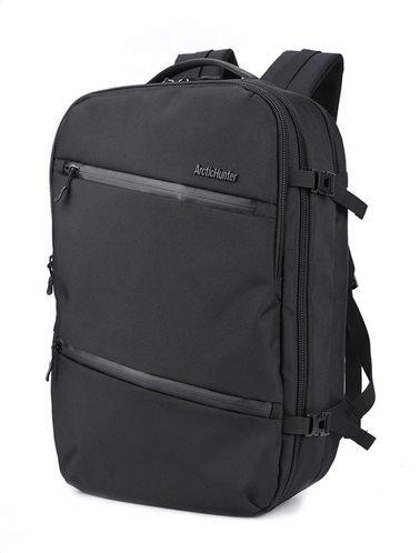 ARCTIC HUNTER τσάντα πλάτης B-00184-BK με θήκη laptop αδιάβροχη μαύρη