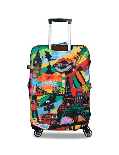 BG Berlin Κάλυμμα βαλίτσας Pop Art European Style Large