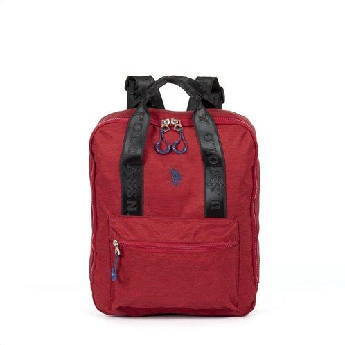 US Polo Assn. Τσάντα Πλάτης New Knock In 30.5x14x36.5cm Κόκκινο