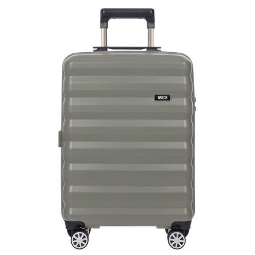 Bric s Βαλίτσα trolley καμπίνας polipropilene 55x38x20cm Rimini Dove Grey