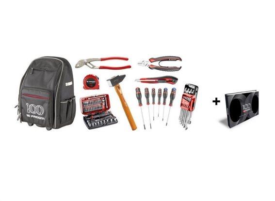 Facom Συλλογή 59 εργαλεία με τροχοφόρο σακίδιο BS.CM100Y