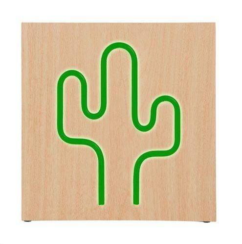 BIGBEN ηχείο Cactus Neon 15W bluetooth ξύλο