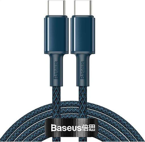 BASEUS καλώδιο USB Type-C CATGD-A03 5A 100W 2m μπλε