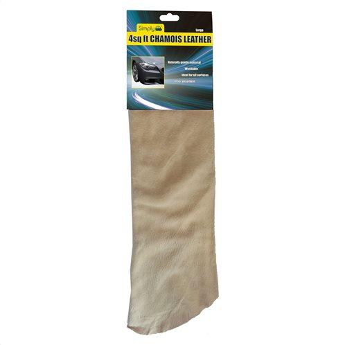 Simply Αυθεντικό Δέρμα Καθαρισμού Αυτοκινήτου Chamois 0,35m2