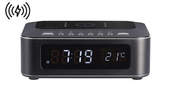 THOMSON Ξυπνητήρι CR400IBT Βluetooth USB ασύρματη φόρτιση LED μαύρο