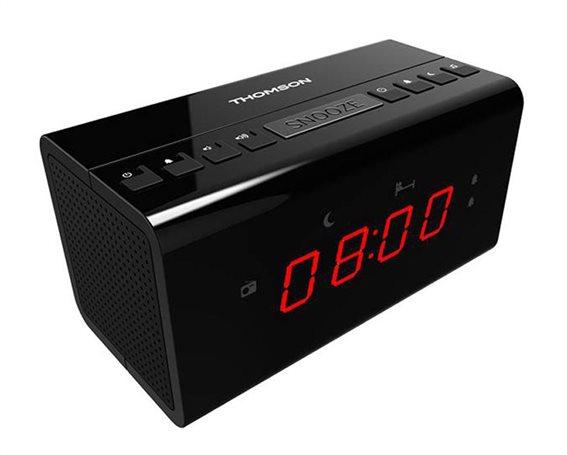 THOMSON Ξυπνητήρι CR50 με ραδιόφωνο μαύρο