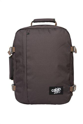 Cabin Zero Τσάντα πλάτης 39x29,5x20cm 28lt σειρά Travel Classic Black Sand