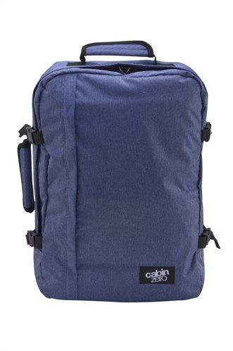 Cabin Zero Τσάντα πλάτης 44x30x19cm 36lt σειρά Travel Classic Blue Jean