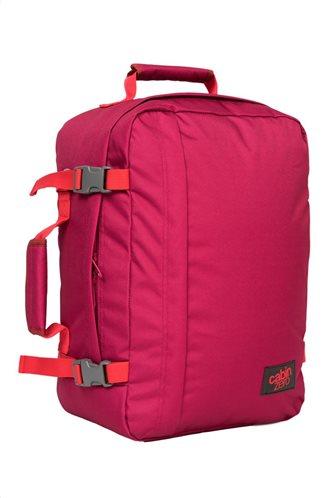 Cabin Zero Τσάντα πλάτης 44x30x19cm 36lt σειρά Travel Classic Jaipur Pink