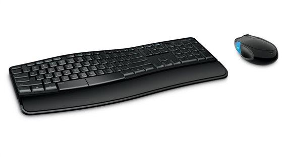 Microsoft Sculpt Comfort Desktop Σετ Πληκτρολόγιο & Ποντίκι
