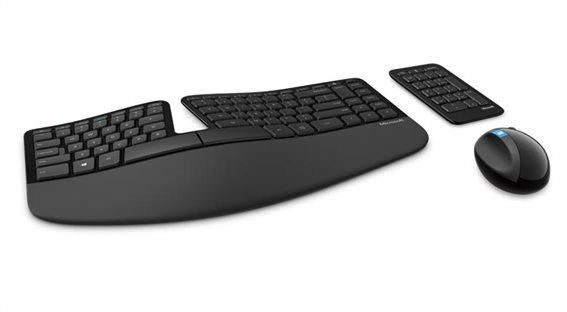 Microsoft Sculpt Ergonomic Desktop Wireless Σετ Πληκτρολόγιο & Ποντίκι