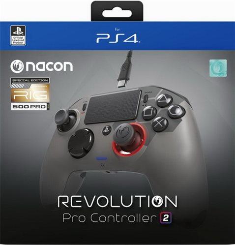 PS4 Nacon Revolution controller V.2 Rig Edition