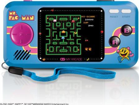 DRG MS.PAC-MAN HANDHELD POCKET PLAYER