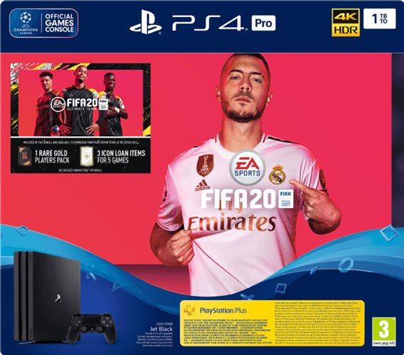 PS4 CONSOLE 1TB PRO & FIFA 2020