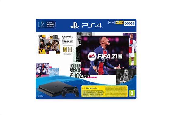 PS4 CONSOLE 500GB & FIFA 21