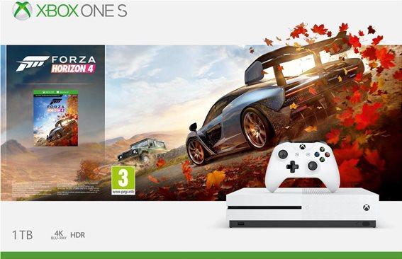 Microsoft console Xbox One S 1TB Forza Horizon 4