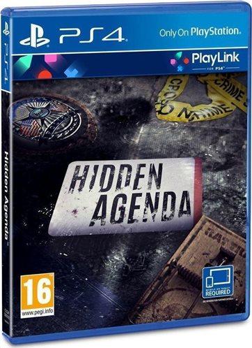 Sony Hidden Agenda Playstation 4 PS4 Game