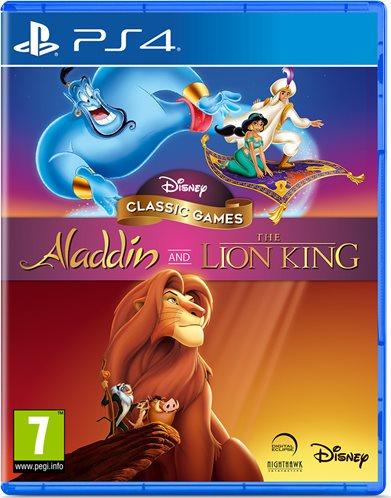 PS4 ALADDIN AND LION KING