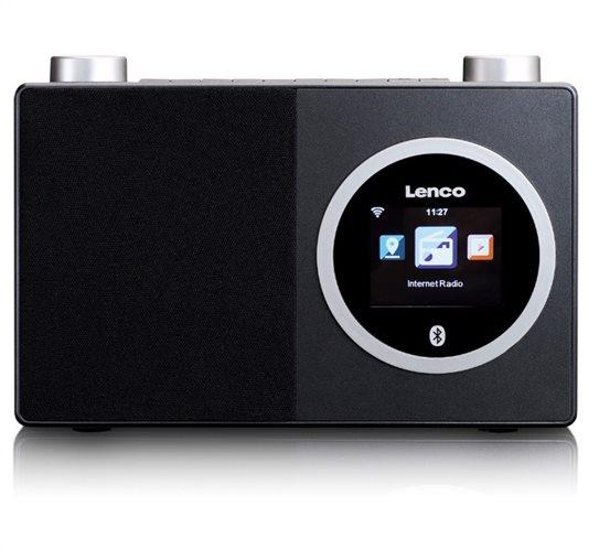 Lenco DIR-70 Internet Radio με Bluetooth Μαύρο