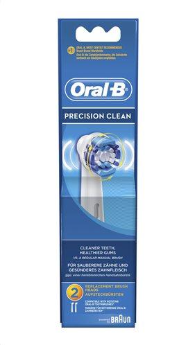 Oral-B Βουρτσάκι Precision Clean Σετ 2τμχ EB20-2