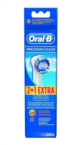 Oral-B Βουρτσάκι Precision Clean Σετ 2+1τμχ Δώρο EB20-3/2