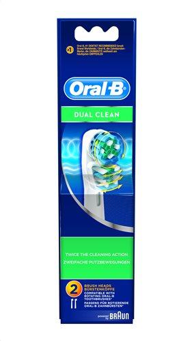 Oral-B Βουρτσάκι Dual Action Σετ 2τμχ EB417-2/N