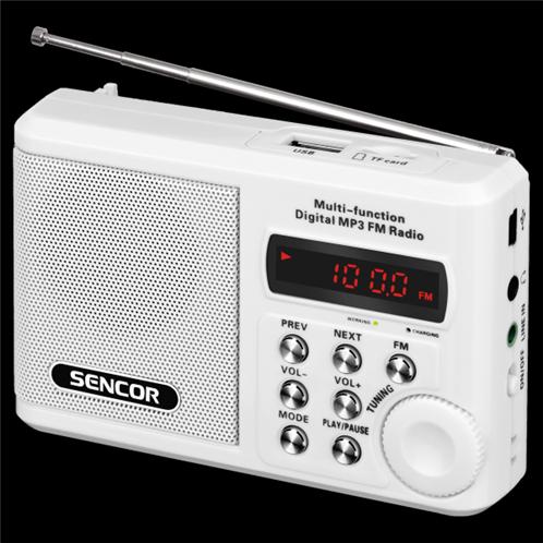 Sencor Φορητό Ραδιόφωνο Τσέπης SRD 215 W
