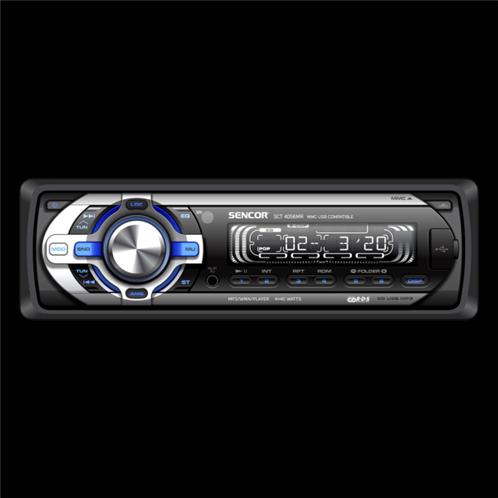 Sencor Ραδιόφωνο Αυτοκινήτου SCT 4056MR