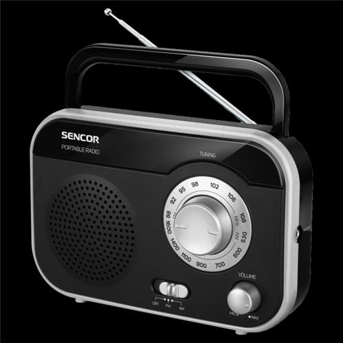 Sencor Φορητό Ψηφιακό Ραδιόφωνο SRD 210 BS