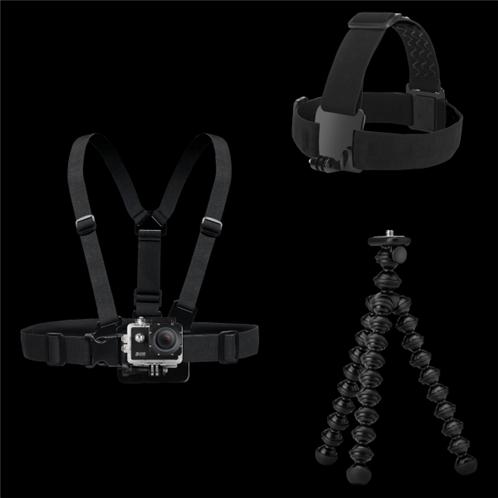 Sencor Holder Set Universal Βάσεις Στήριξης για Action Cameras 3CAM