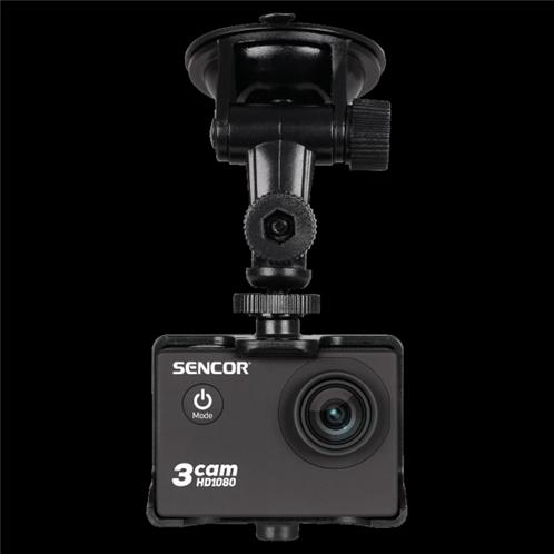 Sencor 3CAM Car Set Universal Βάση Στήριξης για Action Video Cameras