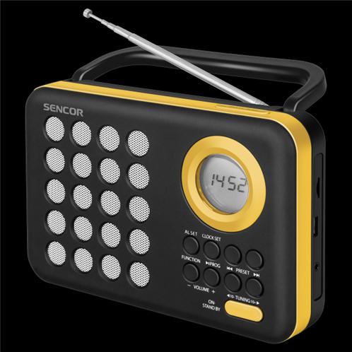 Sencor Ψηφιακό Ραδιόφωνο SRD 220 BYL