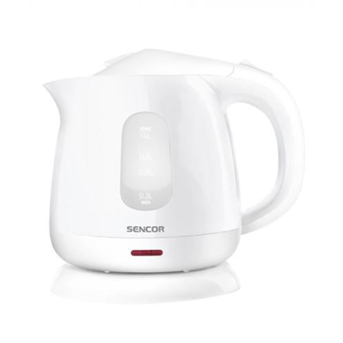 Sencor swk 1010wh (λευκό) πλαστικός βραστήρας 1l