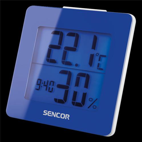 Sencor Θερμόμετρο-Ξυπνητήρι SWS 1500 BU