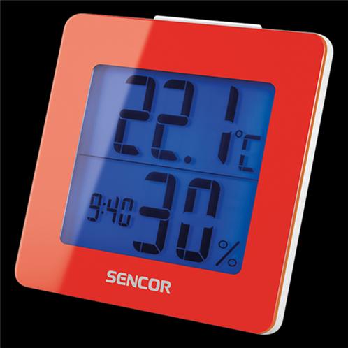 Sencor Θερμόμετρο-Ξυπνητήρι SWS 1500 RD