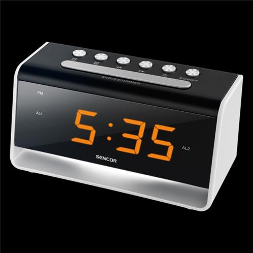 Sencor Ψηφιακό Ρολόι με USB Φορτιστή SDC 4400 W