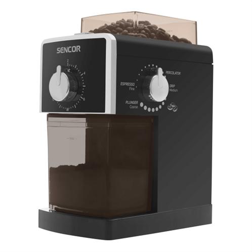 Sencor scg 5050bk ηλεκτρικός μύλος καφέ μαύρο