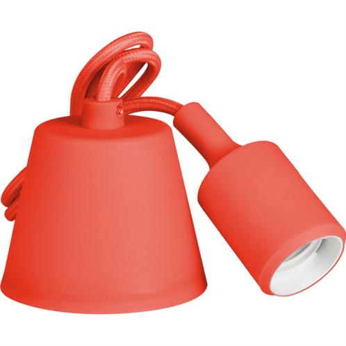 Retlux Καλώδιο/Ντουί E27 Κόκκινο RFC 006