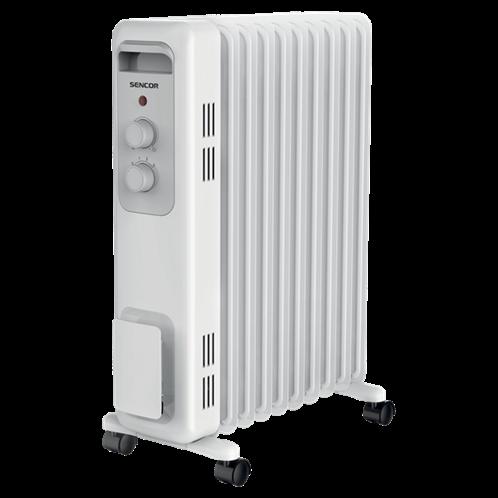 Sencor Ηλεκτρικό Καλοριφέρ Λαδιού Λευκό 9 φέτες SOH 3209WH