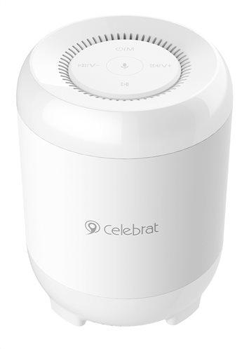 CELEBRAT Φορητό ηχείο Fly-3 TWS bluetooth/SD Card 5W 1200mAh λευκό