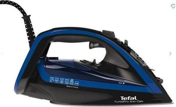 Tefal Σίδερο Ατμού FV5648 TurboPro 2600 Watt