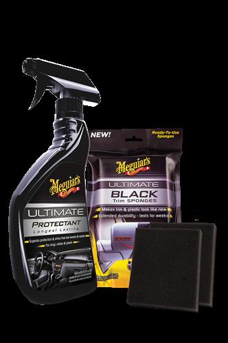 Meguiar's Ultimate Black Trim Pack G15800PACK