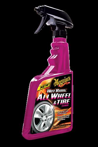 Meguiar's Καθαριστικό Σπρέι Ζαντών και Ελαστικών Hot Rims® All Wheel & Tire Cleaner G9524EU 710 ml
