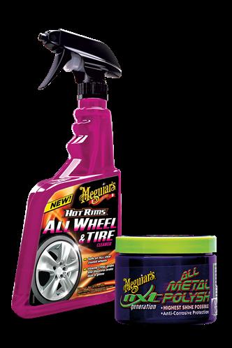 Meguiar's All Wheel & Tire Cleaner Pack G9524PACK
