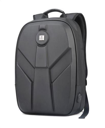 ARCTIC HUNTER τσάντα πλάτης GB00321-BK-CK με θήκη laptop eva μαύρο CK