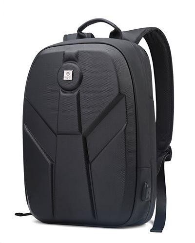 ARCTIC HUNTER τσάντα πλάτης GB00321-BK-FC με θήκη laptop eva μαύρο FC